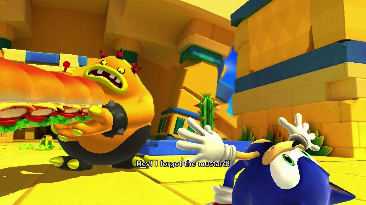 Sonic Lost World Zomom