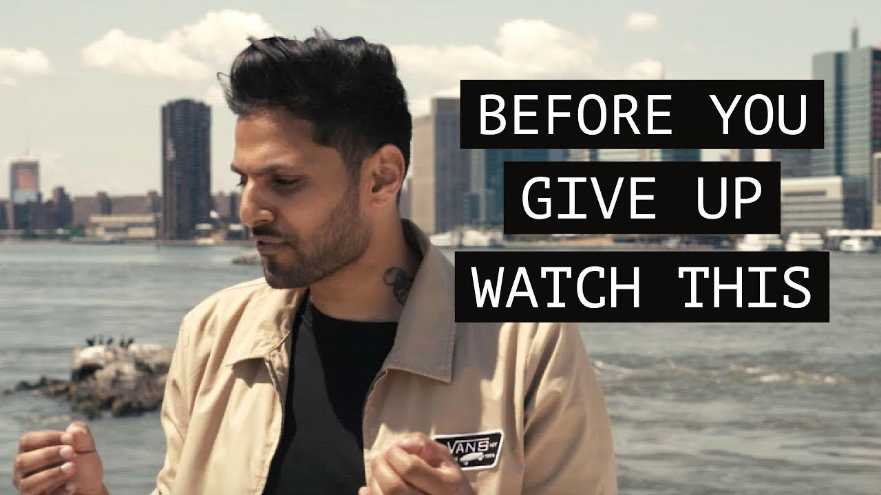 Before You Give Up Watch This | by Jay Shetty