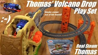 Thomas & Friends Trackmaster: Thomas' Volcano Drop Play Set Unboxing & Playtime 1 of 2