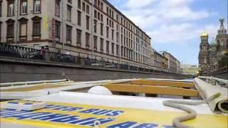 Водная экскурсия на катере по Санкт-Петербургу(Видео с часовой экскурсии на катере по рекам и каналам Санкт-Петербурга., 2011-07-06T18:27:53.000Z)