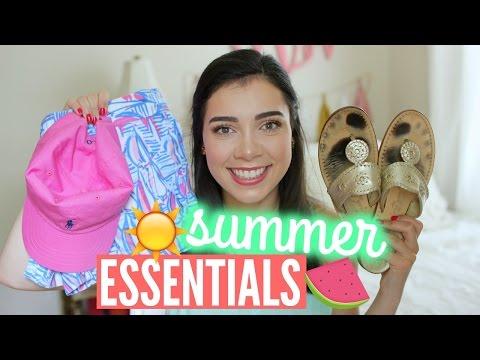 preppy-summer-essentials!