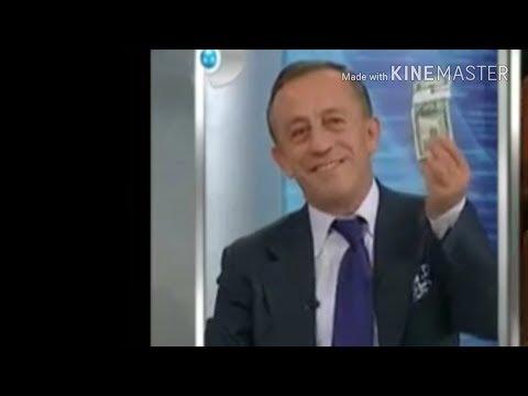 Ali Ağaoğlu Canlı Yayında Cebinden Parasını (dolar) Çıkartıyor.