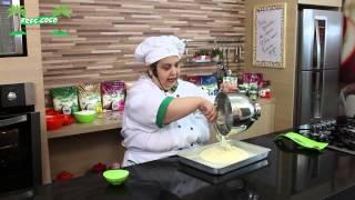Bolo Gelado de Coco com Luzinete Veiga - Fres-Coco - www.mariareceita.com.br