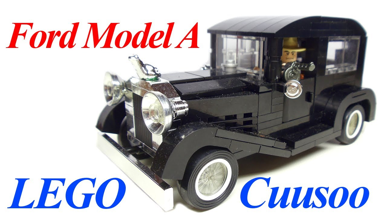 Ford Model A LEGO Cuusoo Project by BrickadierG - YouTube