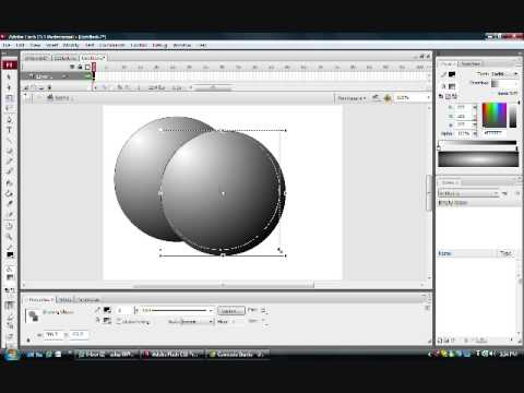 Adobe Flash CS3 Graphics: The Illusion of 3D