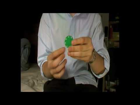 Anti gravity poker chip