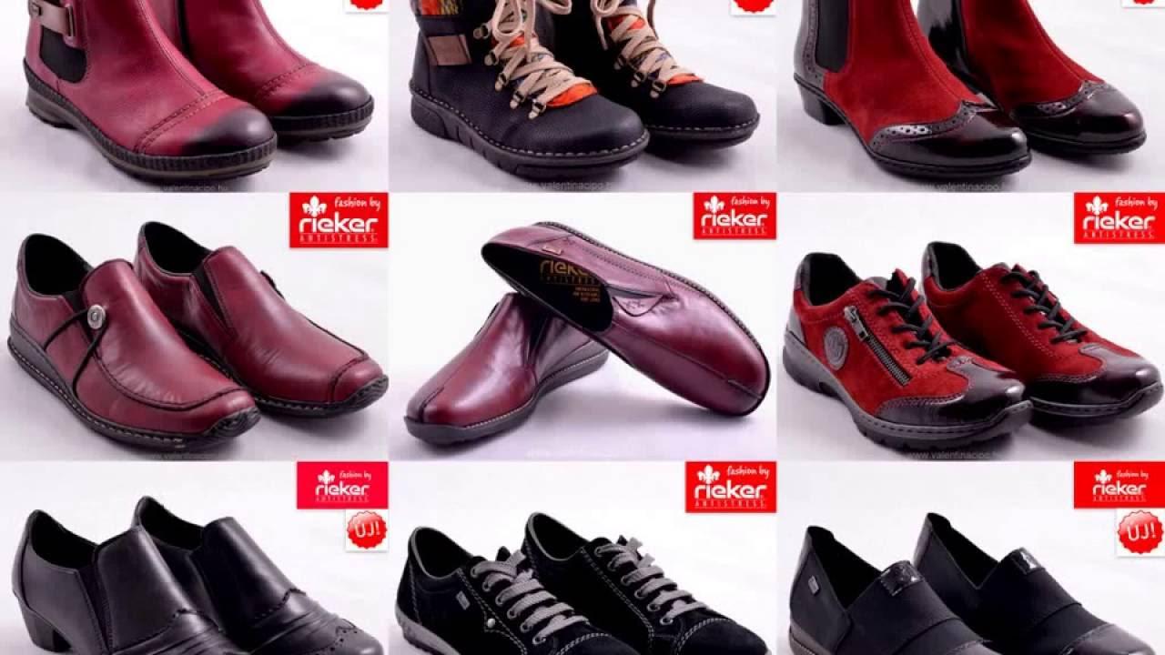 c6dea008a3 Valentina Cipőboltok & Webáruház Rieker őszi-téli cipők - YouTube