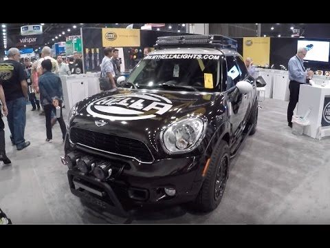 Offroad Mini Cooper Countryman Awd Sema 2016 Youtube
