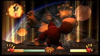 Donkey Kong Jungle Beat Boss 17 - Sumo Kong