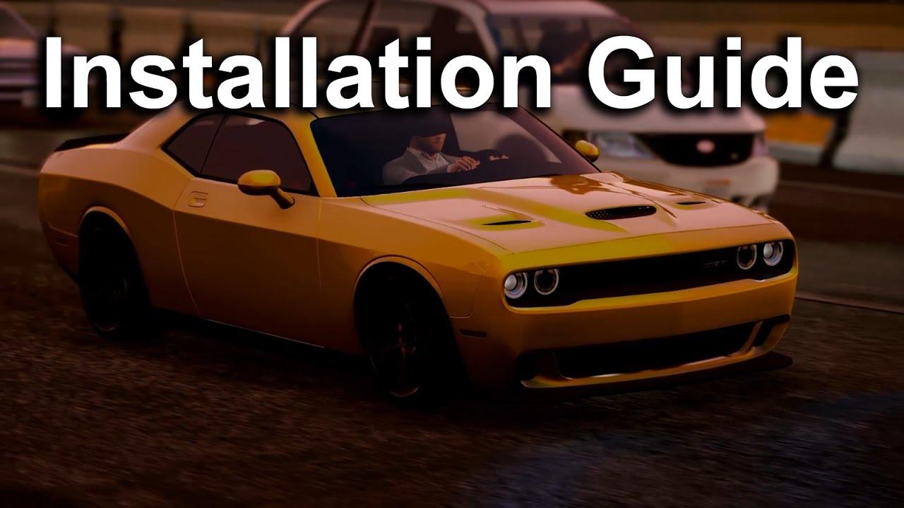 GTA V Mods | Installation Guides | Dodge Challenger 2015