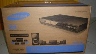 UnBoxing Home Theater e Blu-Ray 3D SAMSUNG HT-E4500K