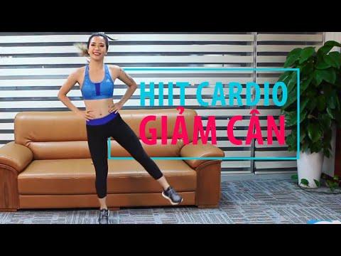 [Khỏe đẹp mỗi ngày] Tập 22 - HIIT Cardio giảm cân nhanh chóng và hiệu quả | Hana Giang Anh