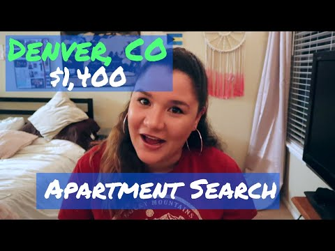 Apartment Search In Denver With A $1,400 Budget