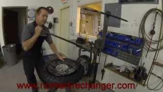 Heidenau K60 or Continental TKC80 Tire Change on BMW -GS Rear Wheel
