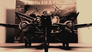 My Heinkel He 219 - 1/32  Revell