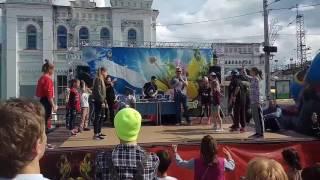 На фестивале ТРОТУАР в Голицыно начались баттлы