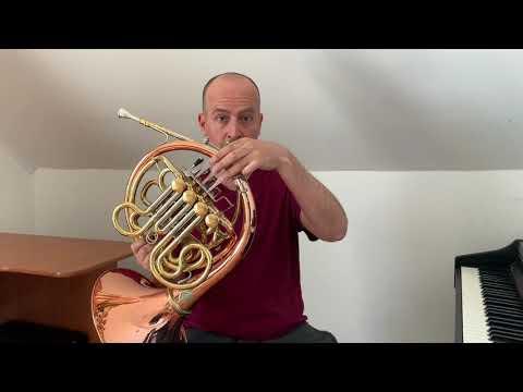 Clases De Corno - La Serie Armónica (video 03)