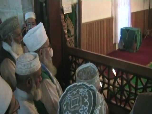 Mazar of Hazrat Shams-e-Tabriz, Konya - Turkey Ziyarah with Hazrat Shaykh-ul-Islam May 2007