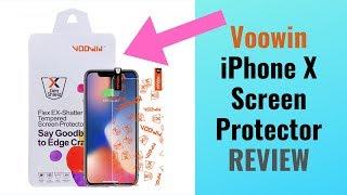 Voowin iPhone X Flex-Ex Shatterproof Screen Protector Review