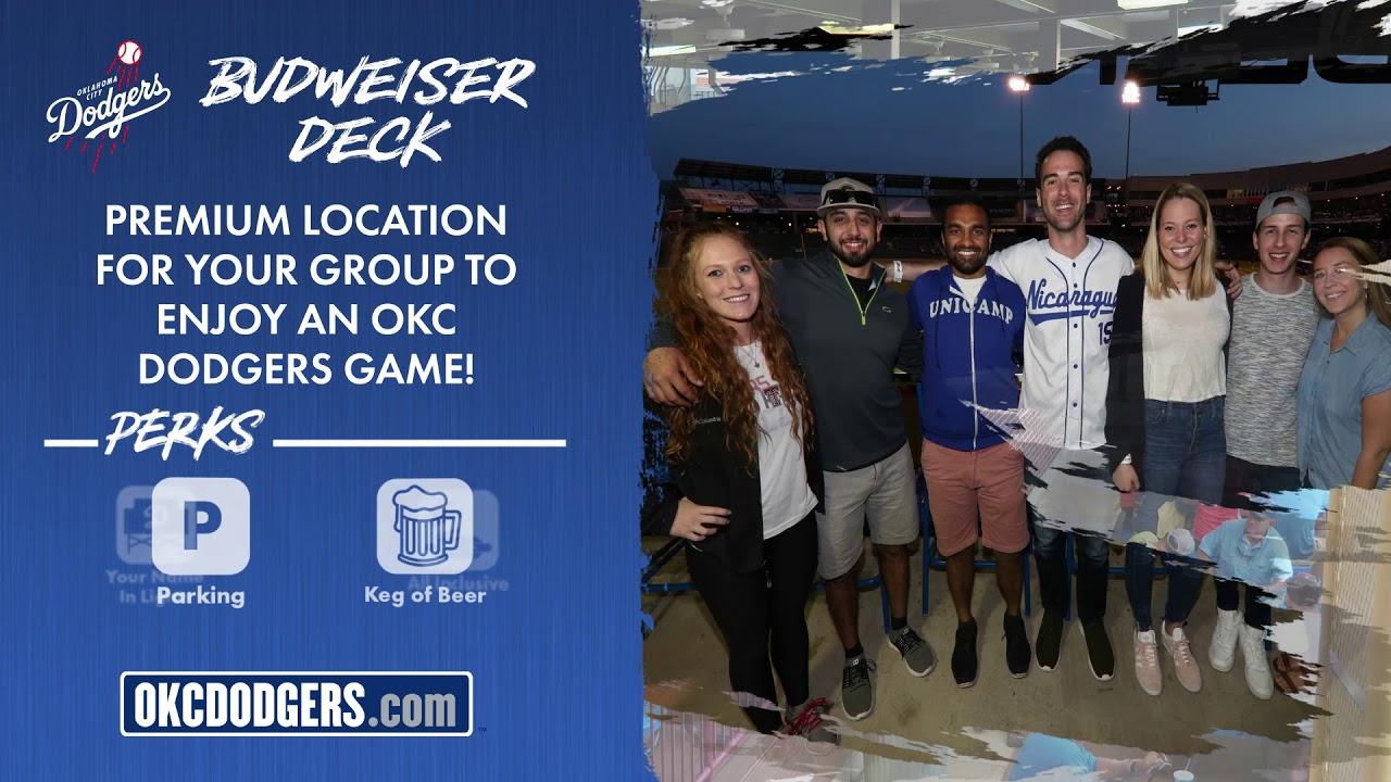 Budweiser Deck Dodgers
