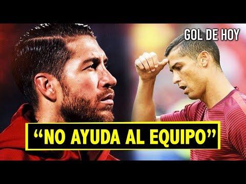 Duro mensaje de Ramos contra Ronaldo ¿Qué le pasa a CR7?