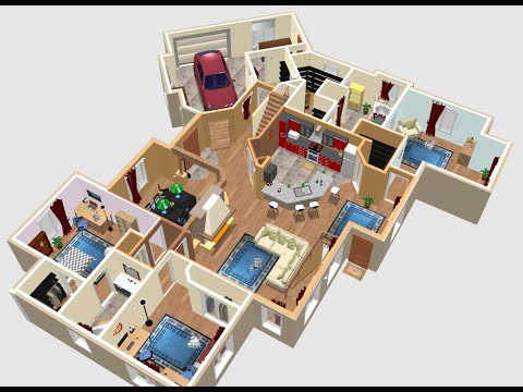 10 years of sweet home 3d superb application for for Sweet home 3d arredamento