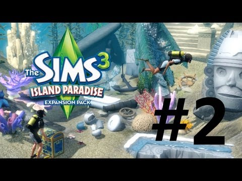 Sims 3 Island Paradise - Let's Play EP2 - RESORT OF EPICOSITY