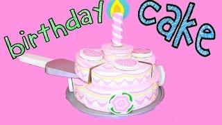 Birthday Cake Melissa & Doug Wooden Learning Educational Toys Like Cupcake Set Decorating Cake Video