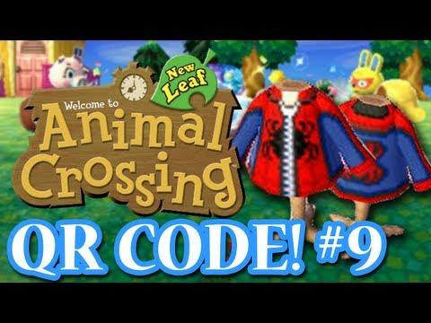 ANIMAL CROSSING: NEW LEAF - QR CODES - SPIDERMAN HOODIE! (EPISODE 9)