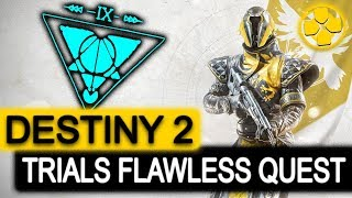 Destiny 2 🔴   Warlock   Trials of the Nine   The Quest for Flawless   PC Gameplay 1080p 60fps