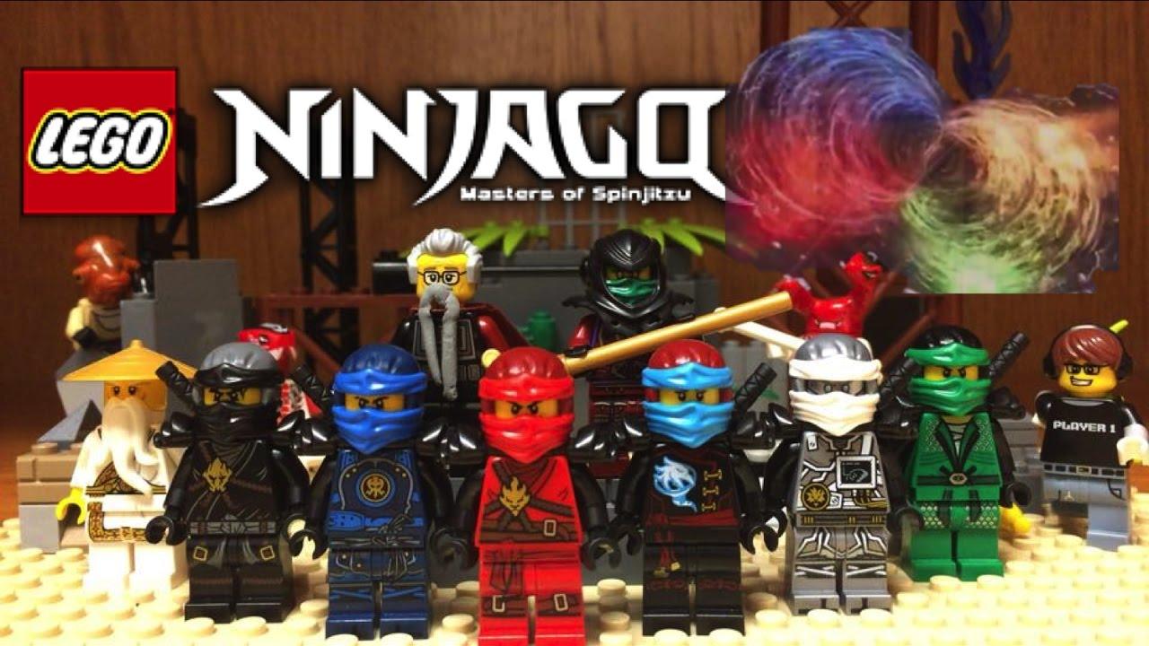 lego ninjago hands of time display and custom minifigures showcase season 7 ninjago 2017 youtube - Ninjago Nouvelle Saison