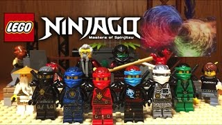 Lego NINJAGO Hands Of Time Display and Custom Minifigures Showcase Season 7 Ninjago 2017