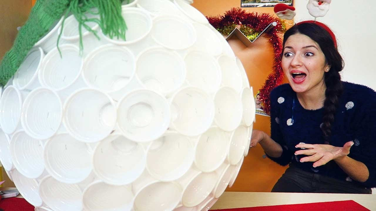3 decorazioni natalizie fai da te creazioni incredibili for Youtube decorazioni natalizie