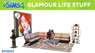 The Sims 4 Glamour Life Stuff Trailer (CC Pack)