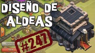 Aldea de guerra TH 9 | Diseño de Aldeas | Descubriendo Clash of Clans #247 [Español]