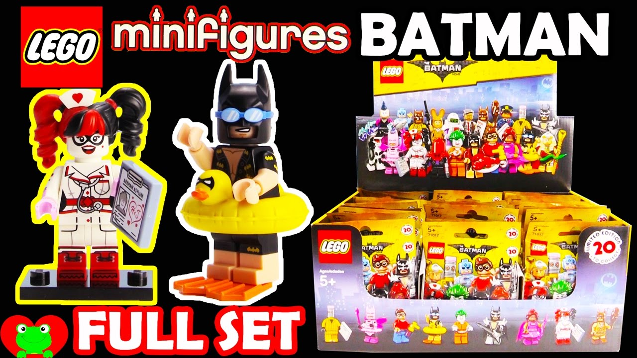 Minifigurine n°4 Batman Grotte Lego 71017 Serie Batman