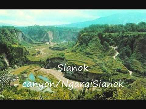 bukittinggi most tourist attractions in western Sumatra  Indonesia