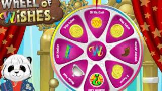 Webkinz-Wheel of wishes