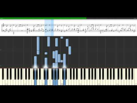 Five For Fighting - Superman [Piano Tutorial] Synthesia