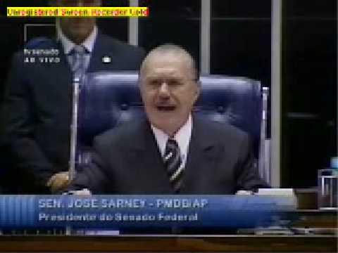 José Sarney Eleito Presidente do Senado