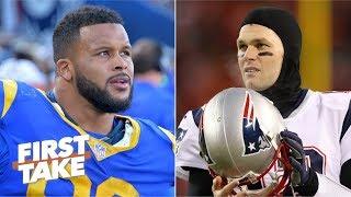 Can Aaron Donald take down Tom Brady in Super Bowl LIII? | First Take