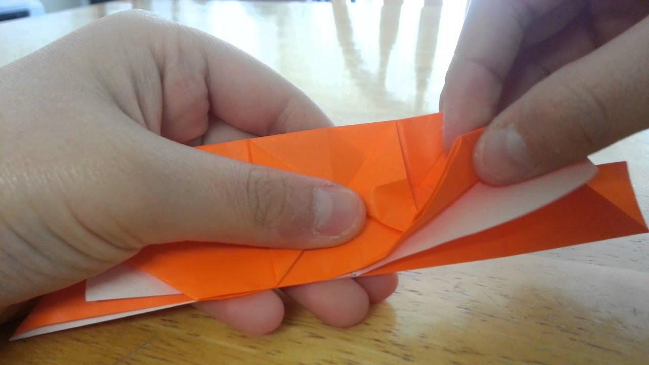 Origami Samurai Helmet Part 1 - YouTube | 720x1280