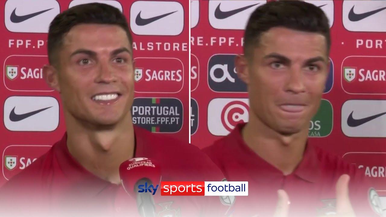 Record-breaker Cristiano Ronaldo's late goals for Portugal break ...
