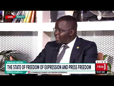 The state of Freedom of Expression and Press Freedom | NBS Breakfast meeting