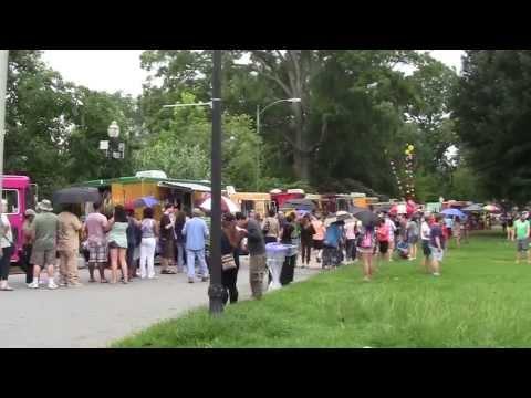 The Atlanta Street Food Festival, 2013 at Piedmont Park, ATLANTA, GA