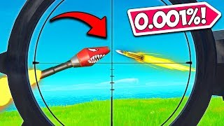 *0.01% CHANCE* SUPER RARE MOMENT!! - Fortnite Funny Fails and WTF Moments! #853