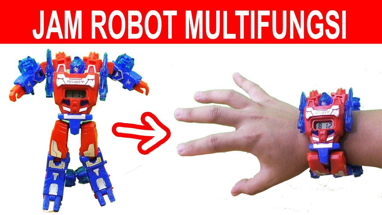 3 ALAT UNIK JAM TANGAN ROBOT MULTIFUNGSI