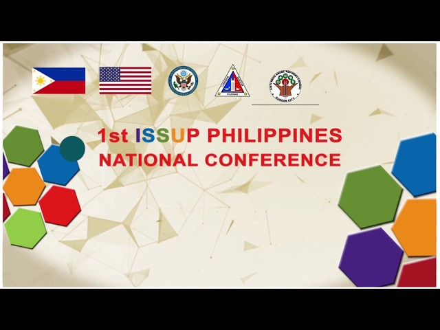 ISSUP Philippines Launch & 1st National Conference
