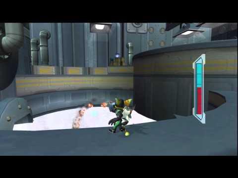 Ratchet & Clank 2 - Planète Notak, Canal City : Inspecte les quais