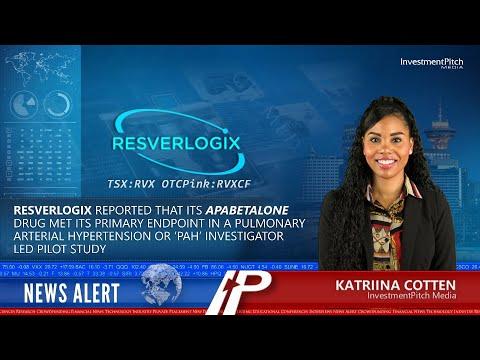 Resverlogix: Apabetalone Meets Primary Endpoint in a Pulmonary Arterial Hypertension Pilot Study